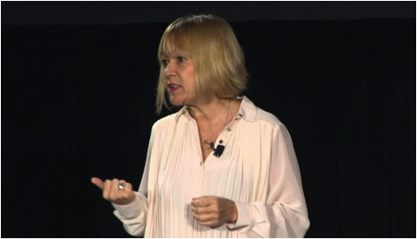 Cindy Gallop, closing keynote speaker at the 2014 conference.