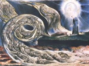 The Lovers Whirlwind illustrating Canto V of Dante's Inferno