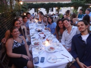 Group Dinner in Athens