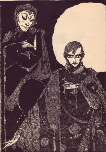 Illustration by Harry Clarke for a 1925 edition of Faust