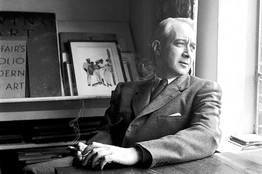 Lionel Trilling. (Bettman). Image for The Nation.