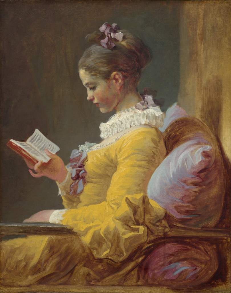 Charles-Edward-Perugini-Girl-Reading-Print