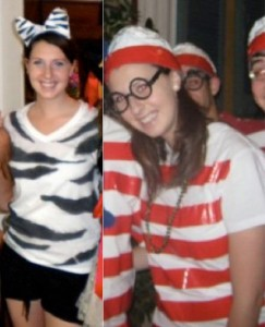 4. A zebra and Waldo