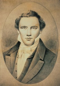 The Mormon founder and first prophet, Joseph Smith
