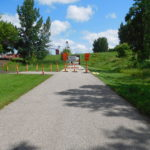 Even the bike trail is closed for repairs in parts