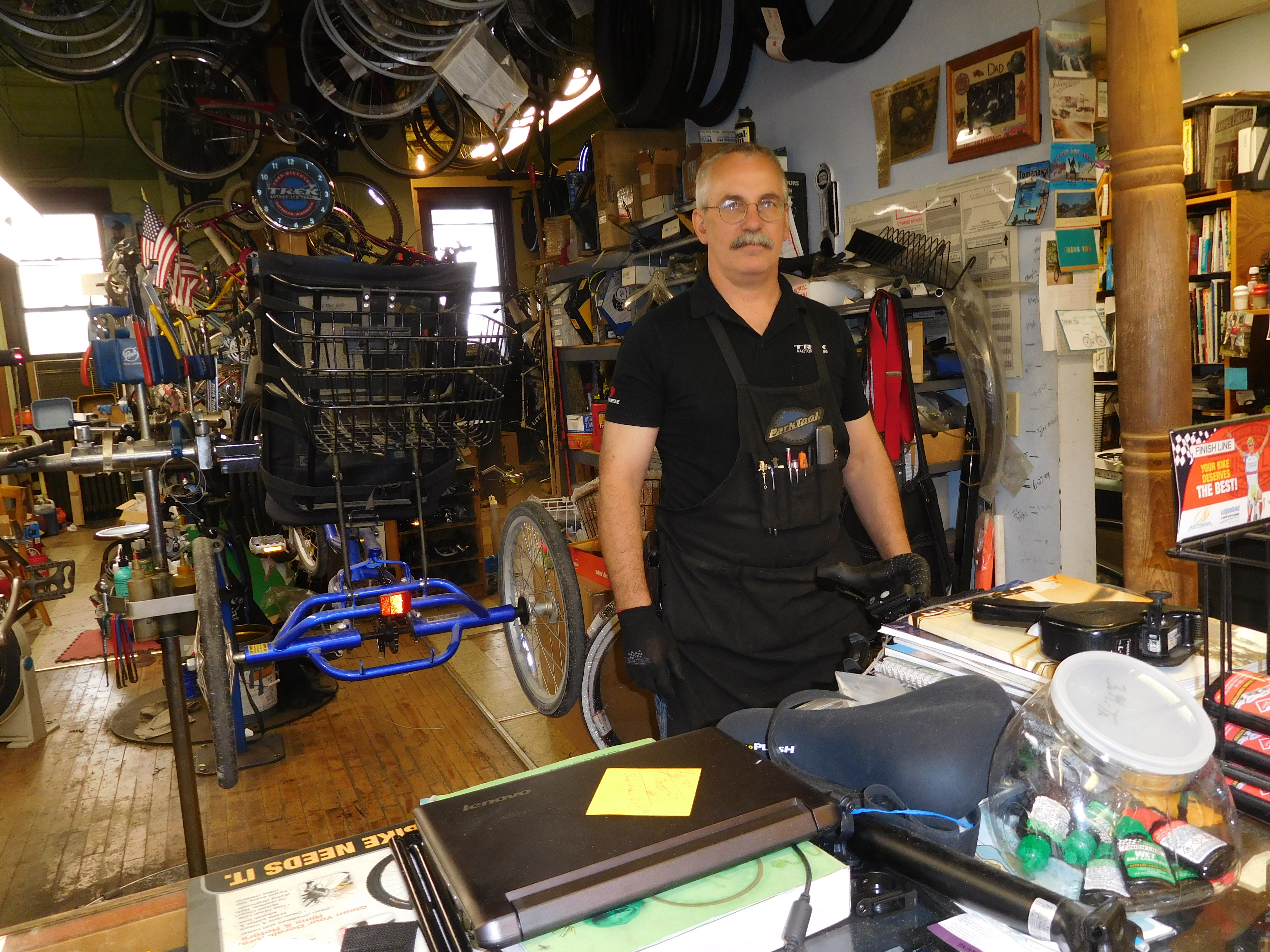 Mike of Mikes Bike Shop