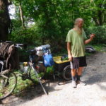 My trip was tiny This man has been pedaling for 13 years around the USA